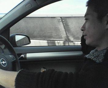 渋滞だぁー(^o^;