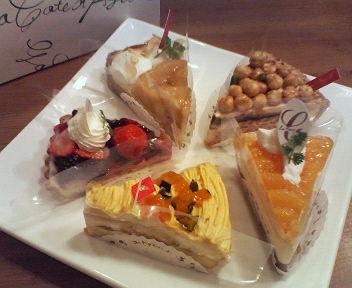 【コートダジュール】のケーキ♪