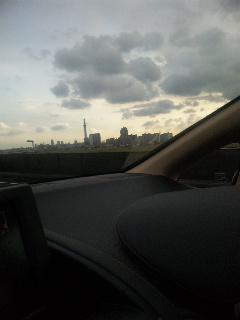 高速道路から見た‥